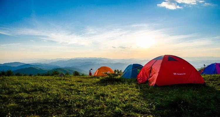 Tiendas de acampar para cicloturistas