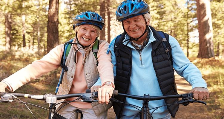 Bicicletas para personas de mayor edad.